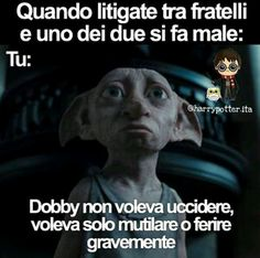 Dobby non voleva uccidere Harry Potter Tumblr, Harry Potter Anime, Harry Potter Film, Harry Potter Love, Harry Potter Fandom, Harry Potter Memes, Potter House Quiz, Funny Photos, Funny Images