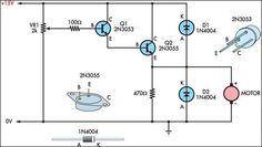 Basic Motor speed controller Circuit