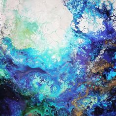 WHO: Emma Lindström2 WHY: I like the use of colour and texture to create an abstract painting