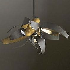 Wrought Iron Corona Pendant by Hubbardton Forge at Lumens.com