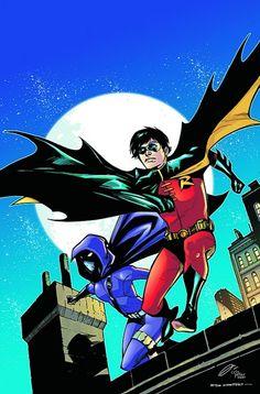 Robin and Spoiler by Rafael Albuquerque