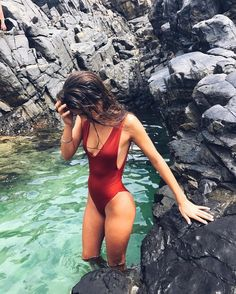 Shop for stylish Designer Swimwear for Women at REVOLVE CLOTHING. Find designer bathing suits including Bikinis, One Piece suits & more from top brands! Mädchen In Bikinis, Bikini Swimwear, Summer Bikinis, Monokini Swimsuits, Summer Pictures, Beach Pictures, Bikini Babes, Bikini Girls, Shotting Photo