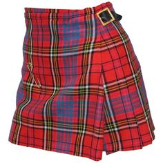 The iconic punk Vivienne Westwood pleated kilt skirt c. 1994 ❤ liked on Polyvore featuring skirts, punk skirt, knee length pleated skirt, gold skirt, punk rock skirts and gold pleated skirt