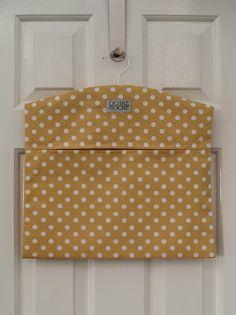 Ochre & Ocre Organic Cotton Peg Bag - Madelaine: Madelaine Ochre