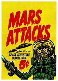 Mars Attacks 1962 Cards