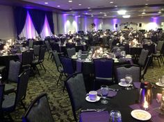 Canadian Honker Events at Apace, Rochester MN #weddings #decor #headtable #backdrop #uplights #ballroom