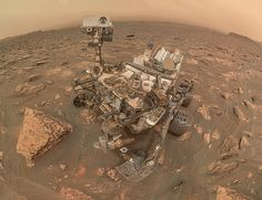 FOX NEWS: NASA's Curiosity rover takes stunning selfie during massive dust storm on Mars Nasa Curiosity Rover, Curiosity Mars, Cosmos, Robot, Instruments, Dust Storm, Red Planet, Mars Planet, Geography