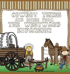 It's finally here!! Mrs. Kuchta's Corner, An Elementary Music Wonderland presents to you this fantastic collection of famous historical American cowboy tunes and westward expansion songs that we all know and LOVE to sing. This collection is a GREAT addition to your elementary music classroom library and can also be a fantastic cross-curricular aide to add to any regular elementary classroom teacher's library as well to help supplement your American History units of study.