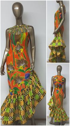 The Absolute Best African styles + Where to Shop African Fashion - - You can never have too many African print clothes. This is a roundup of the absolute best African styles right now plus details on where to get them. African Dresses For Women, African Print Dresses, African Attire, African Wear, African Fashion Dresses, Fashion Outfits, African Style, African Prints, Fashion Ideas