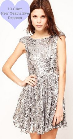 10 glam #NYE dresses for a glam 2013