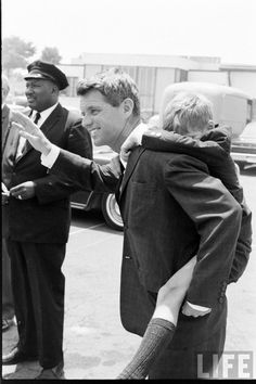 Bobby and David Kennedy. Both dead before their time. RFK from an assassins bullet, David from a drug overdose.
