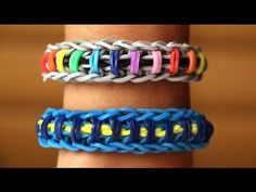 Rainbow Loom English - SPINELET - Loom Bands, easy, how to, DIY - YouTube