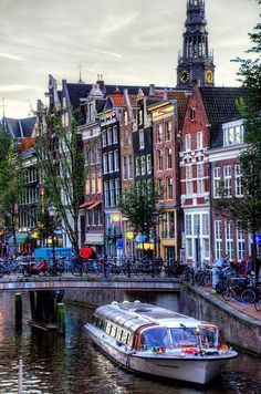 Amsterdam - Canal Cruise;  The Ultimate Top 50 Things to do in Amsterdam.