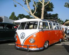 Danny, need this for hauling multiple customers, HEHE...orange VW extended van...