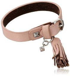 Rebecca Minkoff Leather Bracelet With Tassel Pink. Free shipping and guaranteed authenticity on Rebecca Minkoff Leather Bracelet With Tassel PinkDetails Add some style to your ensemble with this...
