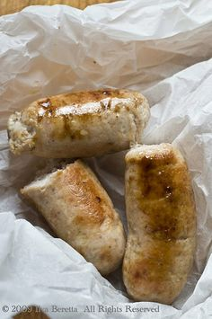 Recipe for homemade chicken apple sausage