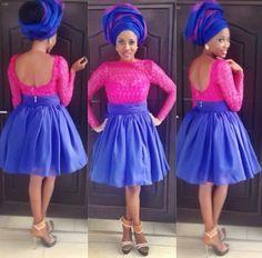 Nigerian Wedding: 8 Sizzling Hot Aso-ebi/ Wedding Guest Styles   Nigerian Wedding   Nigerian Wedding