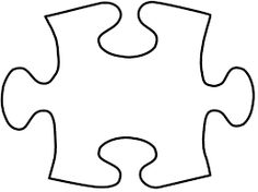 Image result for heart puzzle pieces template