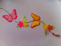 quadro borboletas de papel - Pesquisa Google