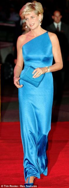 October 31, 1996: Diana, Princess of Wales during the Victor Chang Cardiac Research Institute fundraising dinner in Sydney, Australia.
