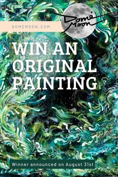 Domè Moon Art newsletters are full of inspiration. Never miss an update on exclusive offers. You have a chance to win an original painting. Winner announced on Aug.31st Zen Home Decor, Meditation Art, Visionary Art, We Remember, Moon Art, Custom Art, Art For Sale, Law Of Attraction, Awakening