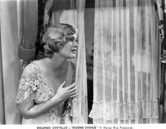 "dolorescostello: "" Dolores in Second Choice. 1930. """