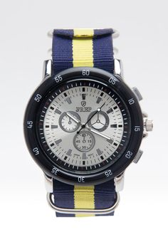 Prep Double Color Dial Watch 2.5mm Band