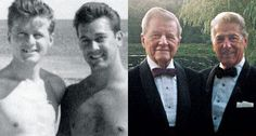 Louis Halsey, 88, and John Spofford, 94,  New York City, New York  The couple married after 64 years together