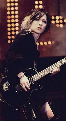 Kouyou Takashima (Uruha) the GazettE. He looks so awesome with his guitar!☆