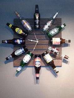 Beer clock! For my mans man cave