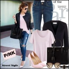 Pink on the street