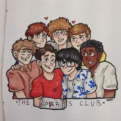 Awesome drawing of the losers club by ❤ . It Movie 2017 Cast, It The Clown Movie, Le Clown, Pennywise The Dancing Clown, Best Horror Movies, Bubbline, Stranger Things Netflix, Horror Art, Cute Art