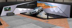 Mercedes Benz - SUV's Launch Event - GLC, GLE Coupé on Behance