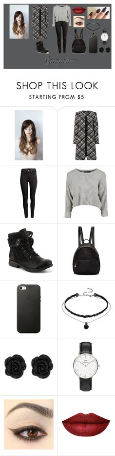 """""""Jacqueline"""" by annyesoluvely on Polyvore featuring Ellen Tracy, H&M, STELLA McCARTNEY and Daniel Wellington"""