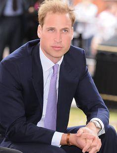 Prince William, looking sharp!
