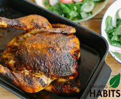 Turmeric & BBQ spiced Roast Chicken