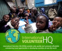 International Volunteer HQ (IVHQ) provides safe, quality and extremely affordable volunteering travel opportunities in developing countries all over the world.