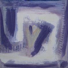 petit carré abstrait peint à l'acrylique sur toile par Marine Assoumov