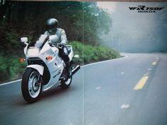 Honda VFR 750 F Brochure.... miss mine!