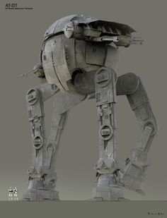 ArtStation - Ruben Alba's submission on ILM Art Department Challenge - The Ride Star Wars Sith, Star Wars Rpg, Star Wars Concept Art, Star Wars Fan Art, Imperial Walker, Star Wars Vehicles, Galactic Republic, Battle Droid, Star Wars Images
