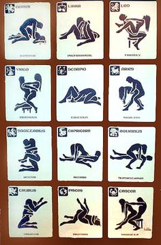Zodiac Sex Positions Poster 90