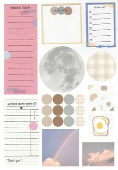 Bullet Journal Writing, Bullet Journal School, Bullet Journal Aesthetic, Bullet Journal Ideas Pages, Bullet Journal Inspiration, Printable Stickers, Cute Stickers, Korean Stickers, Daily Planner Pages