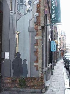 Unique Belgian Street Art.. . #streetart