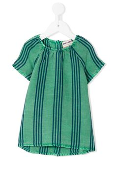 Girls Striped Dress   Bobo Choses