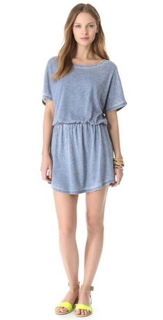 Cover Up Shirttail Dress