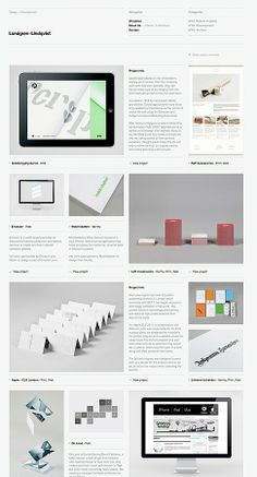 clean Webdesign with a focused mixture of content and well done images.