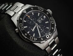 Tag Heuer Aquaracer 500m Chronograph Calibre16 CAJ2110  (PREOWNED - ORIGINAL) WE ARE BASED AT JAKARTA please contact us for any inquiry : whatsapp : +6285723925777 blackberry pin : 2BF536B9  #WATCH #WATCHES #TAGHEUER #AQUA #AQUARACER