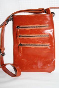 Shiraleah Handbags Harper Cross Body Pouch Purse Orange #Shiraleah #MessengerCrossBody