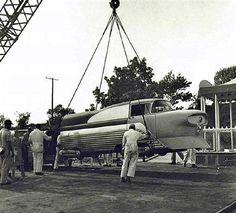 Santa Fe and Disneyland RR Viewliner, 1957