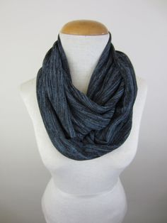 Dark Blue Sweater Scarf by CatStitchClothing, $24.50